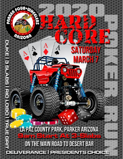 Parker 4 Wheelers 2019 Toy Run